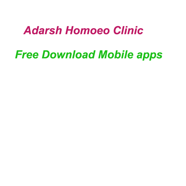 Adarshhomoeoclinic mobile apps